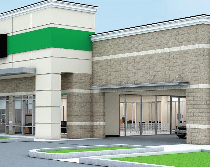 Site Redevelopment Underway for Enterprise Car Dealership