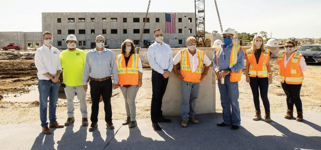 O-A-K Hosts Topping-Off Event