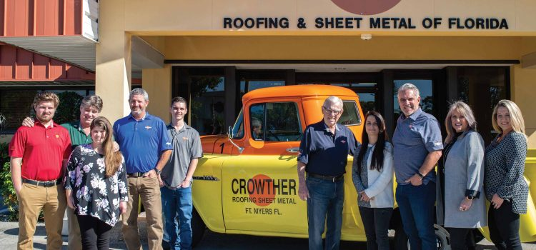Crowther Roofing Continues to Grow and Diversify After More Than Six Decades in Business