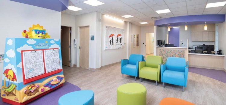 Stevens Construction Completes Children's Charities Eye Institute